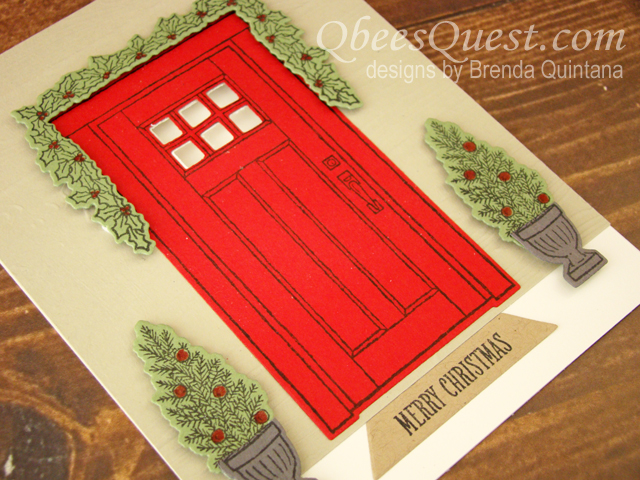 At Home With You Christmas Card (CT #126)