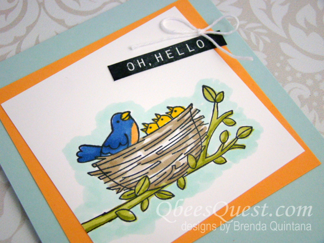 Flying Home Card (CT #130)