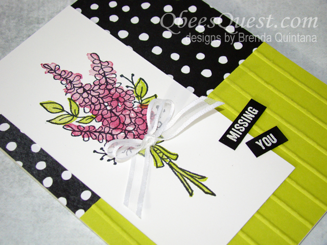 Lots of Lavender Card (CT #129)