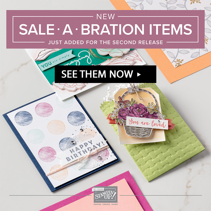 THREE New Products for Sale-a-bration!!!!