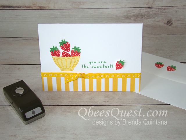 Fruit Basket Note Card