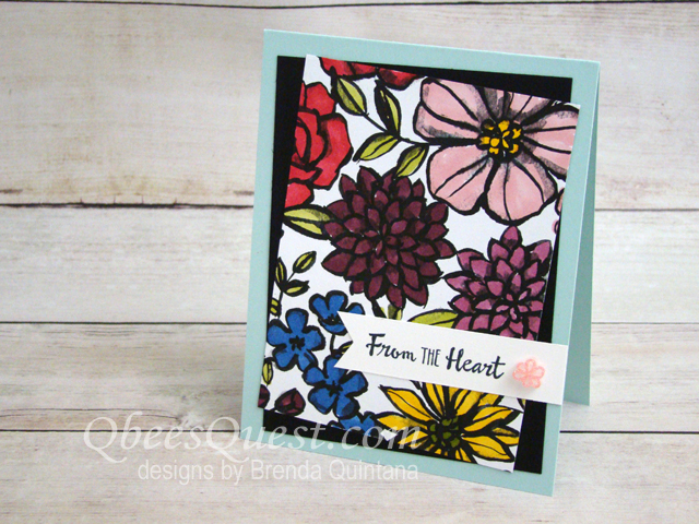 Petal Passion Paper Card (CT #133)