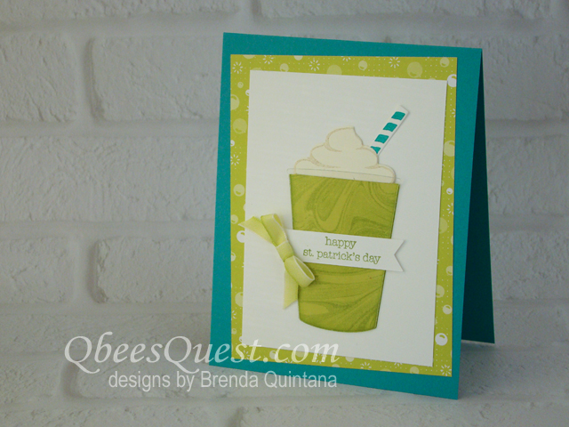 Shamrock Shake Card (CT #136)