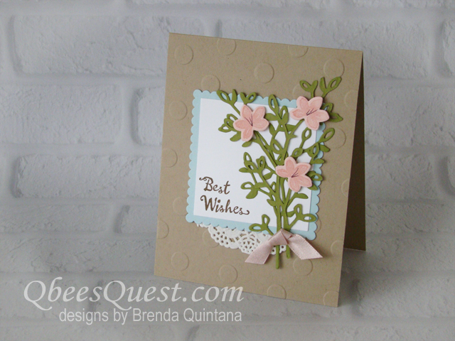Petal Palette Bouquet Card (CT #137)