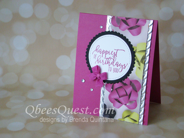 Picture Perfect Birthday Card (CT #140)