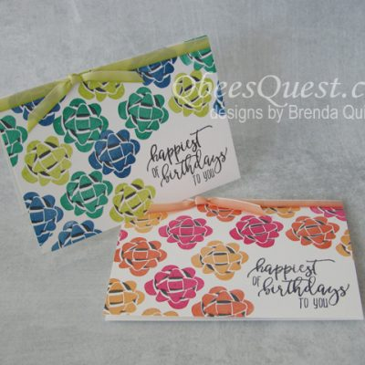 Picture Perfect Birthday Note Cards