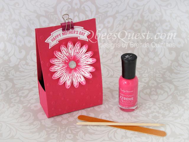 Manicure Kit Tutorial (holds nail polish, emery board, cuticle stick)