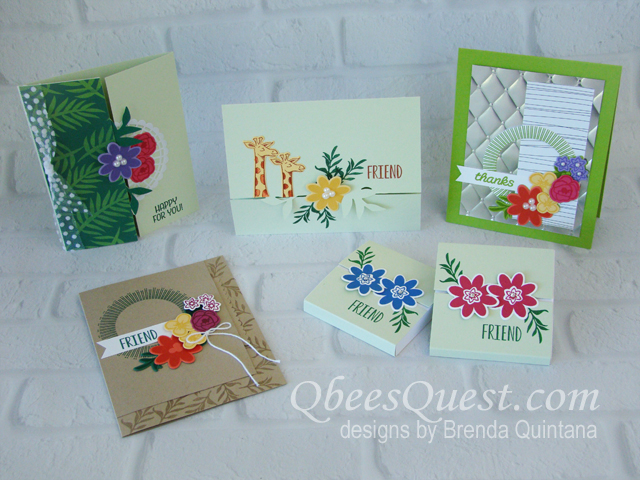 4 Projects with the Bouquet Blooms Bundle