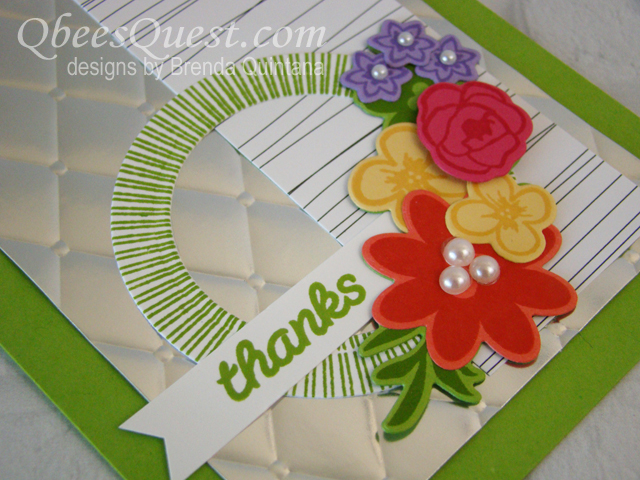 Bouquet Blooms Card (CT #153)