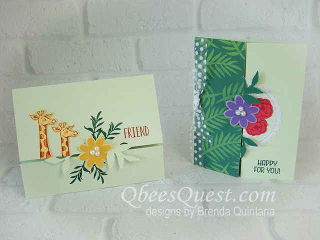 Gatefold Cards using the Bouquet Blooms Bundle