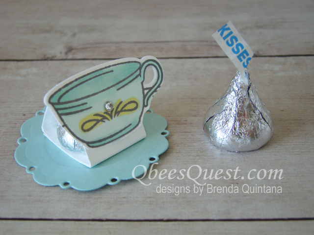 Hershey's One Kiss Teacup