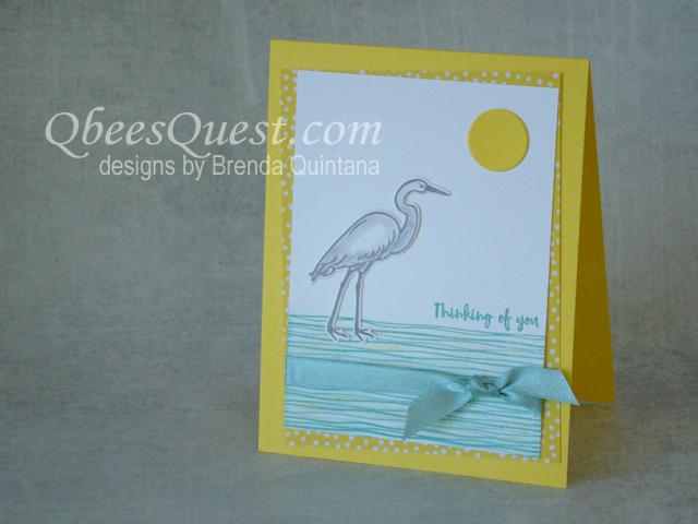 Lilypad Lake Card (CT#150) & Giveaway