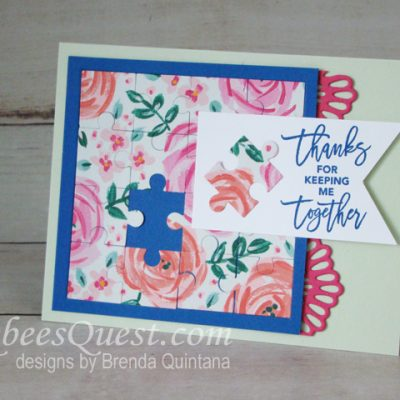 Love You to Pieces Card (CT #152)