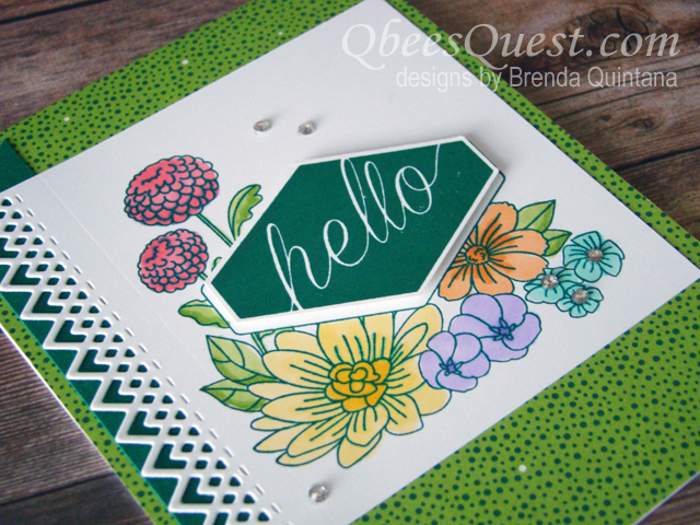 Accented Blooms Card (CT #156)