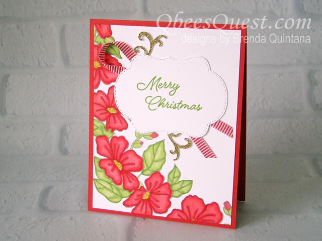Blended Seasons Christmas Card (CT #159)