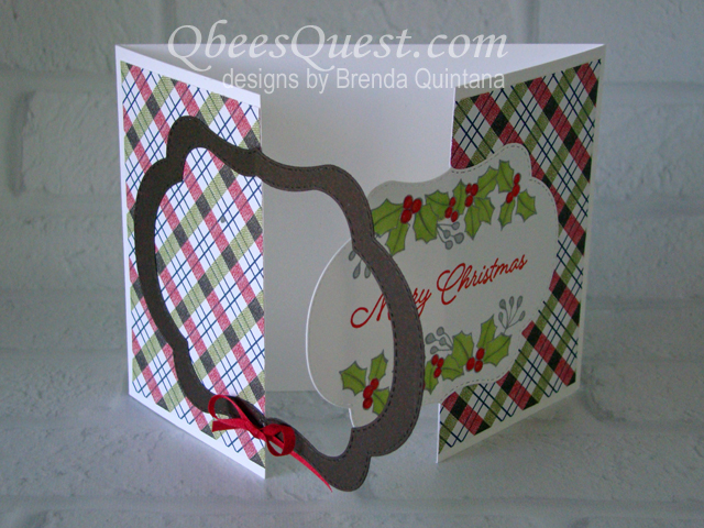 Blended Seasons Fancy Fold Card