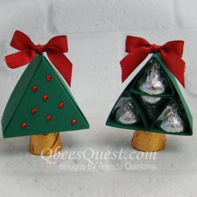 Hershey's Mini Christmas Tree with Gift Box
