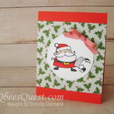 Signs of Santa Card (CT #166)