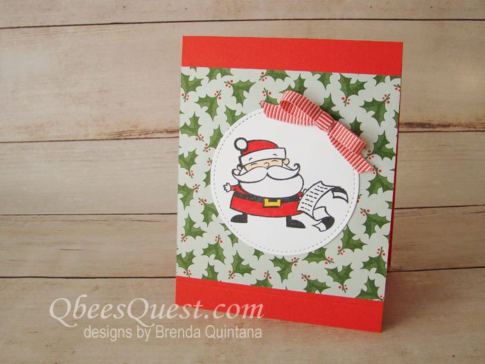 Signs of Santa Card (CT #166)