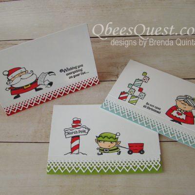 Signs of Santa Note Cards