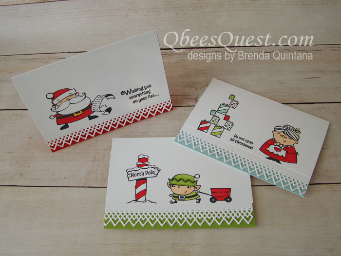 Signs of Santa Note Cards