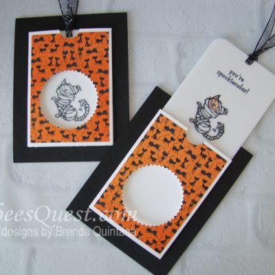 Halloween Magic Card