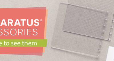 NEW Stamparatus Accessories + WCMD Sale