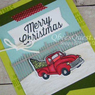 Farmhouse Christmas Card (CT #168)