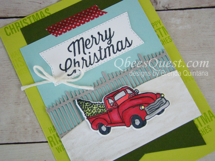 Farmhouse Christmas Card (CT #168)