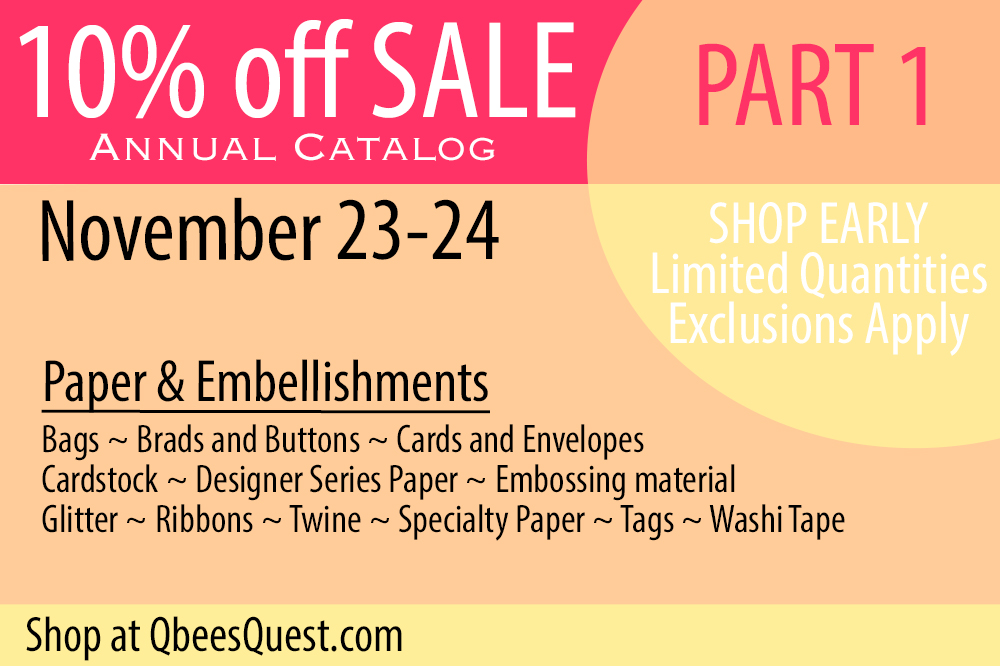 Stampin' Up Black Friday Sale: Part ONE!!