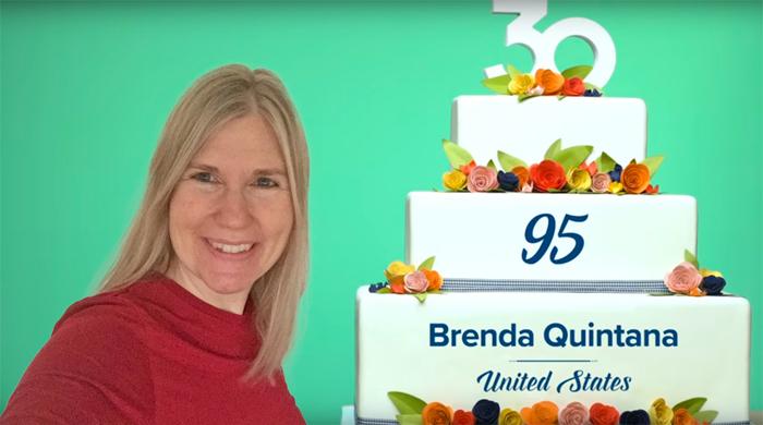 Brenda Quintana Stampin' Up Top 100 in 2018