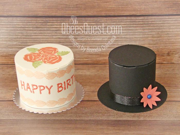 Birthday Cake Box AND Frosty's Hat Box Tutorial