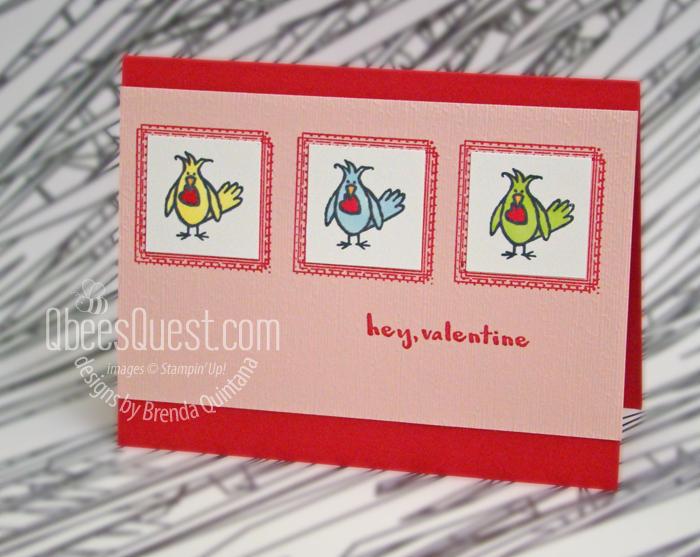 Hey Love Card (CT #180)