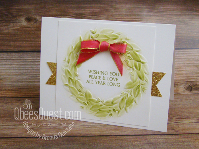 Seasonal Wreath Card (CT#177)