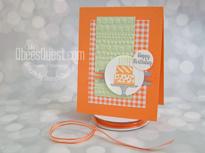 Piece of Cake Birthday Card with Sketch (CT #181)