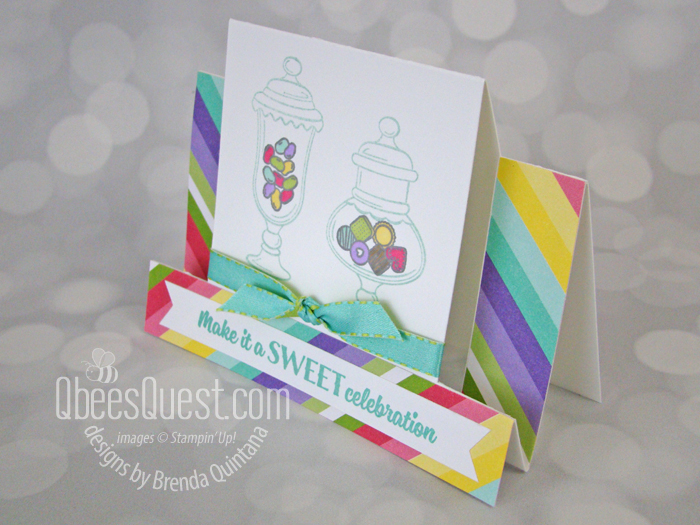 Center Step Card (Fancy Folds #3)
