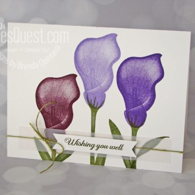 Lasting Lily Card (CT #186)