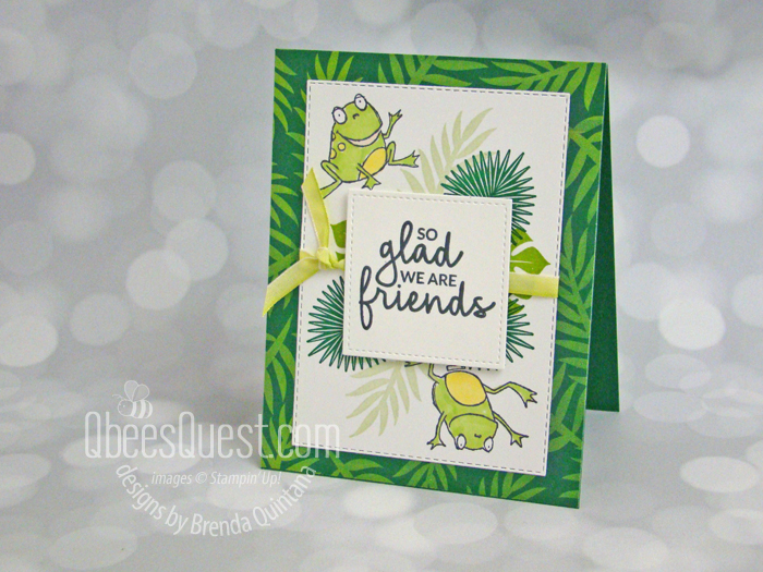 Tropical Chic Card Meets So Hoppy Together  (CT#187)