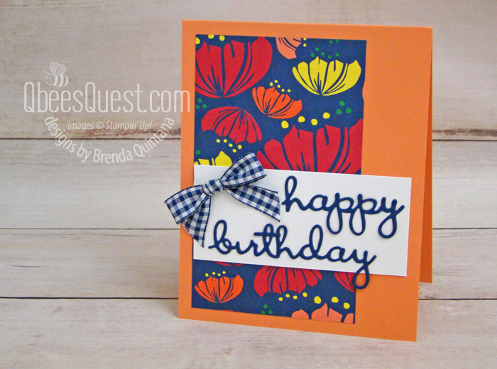 Well Written Birthday Card (CT #185)