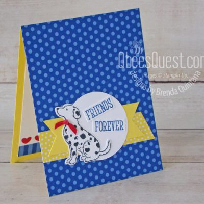 Happy Tails Card (CT #191)