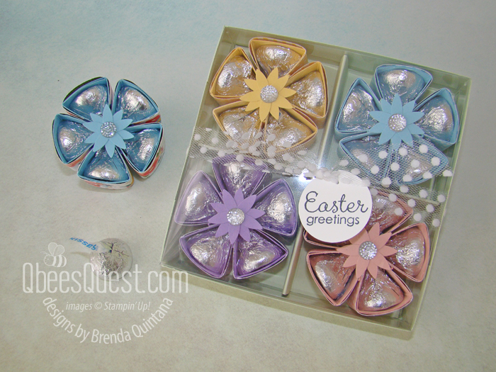 Small Hershey's Flower with Gift Boxes