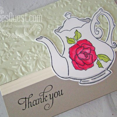 Tea Together Thank You Cards