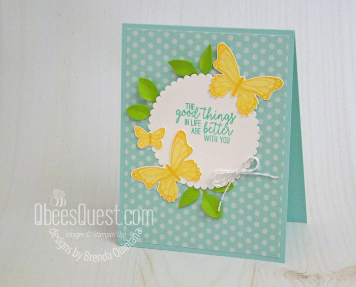 Butterfly Gala Card (CT #195)