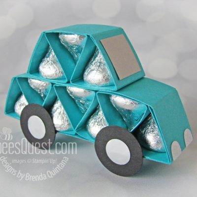 Hershey's Kisses Car Tutorial with Gift Box