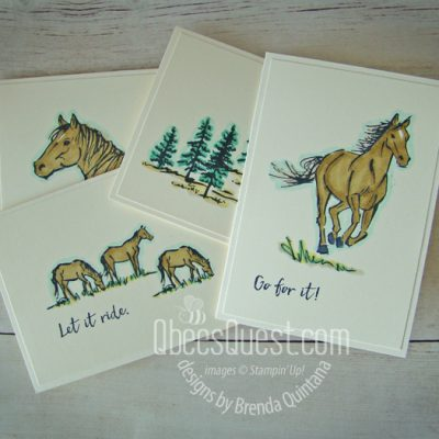 Let it Ride Note Cards