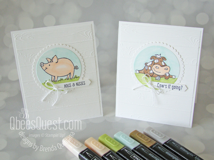 Punny Farm Animal Cards