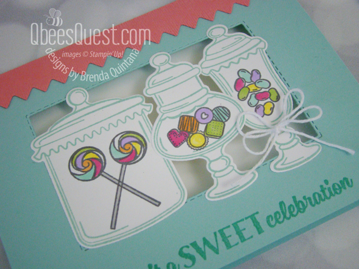 Sweetest Thing Candy Shop Card