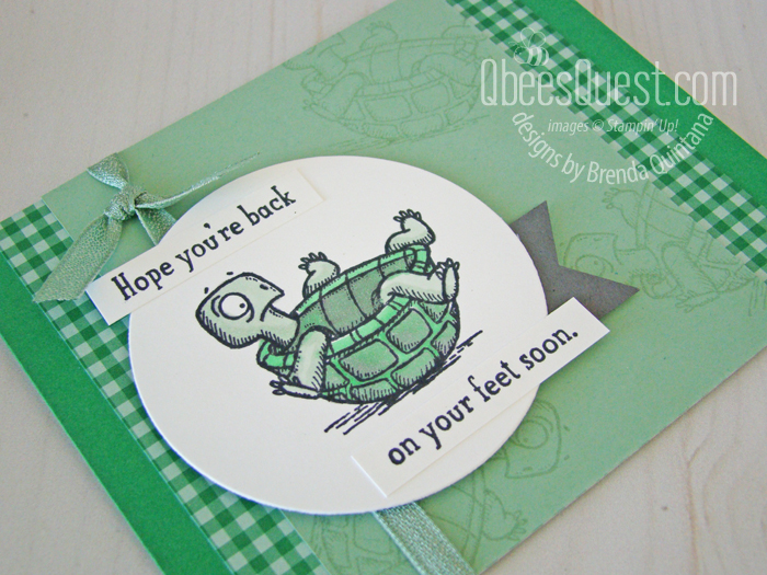 Cheer Up Someone with this sweet Get Well Card