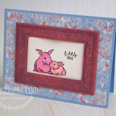 Wildly Happy Bunny Card
