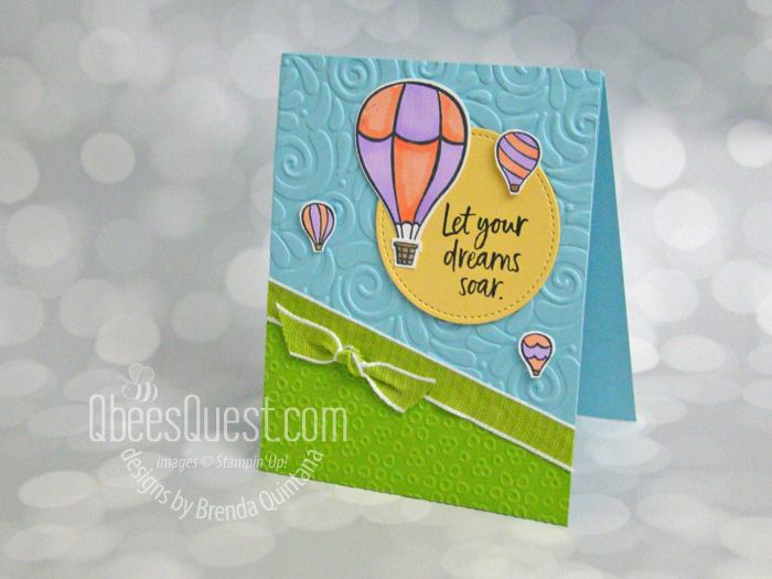 Above the Clouds Card (designing on the fly)